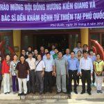 Hội đồng hương Kiên Giang tại Tp. HCM tổ chức khám bệnh và tặng quà tại huyện Phú Quốc