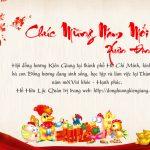 Chúc mừng năm mới bà con Đồng hương Kiên Giang tại Tp. HCM